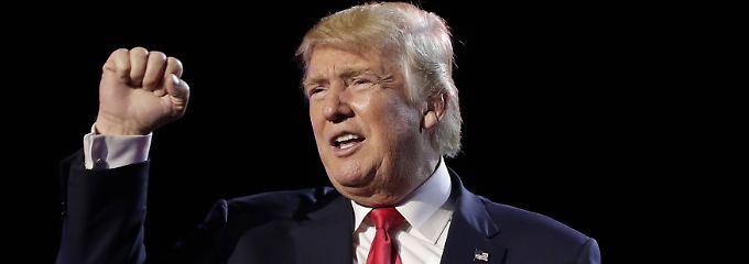 """Nordkorea-Konflikt angefacht?: Trump: """"Mein Atomwaffenknopf ist größer"""""""