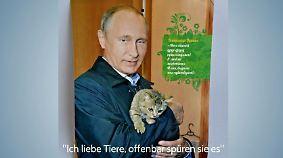 n-tv Netzreporter: Neuer Kalender zeigt Putins zarte Seite