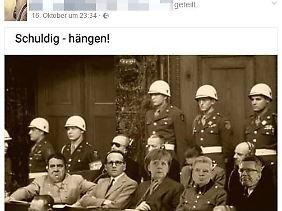 Kein Zweifel lässt P. auf seinem Profil daran, was er von der deutschen Bundesregierung hält.