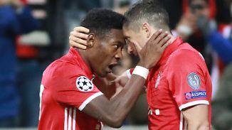 3. Spieltag der Champions League: Bayern siegen wieder, Gladbach wahrt Chancen