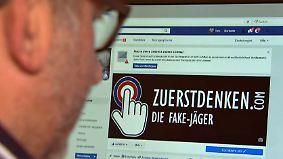 Lügen im Internet: Fake-Jäger von Zuerstdenken.com klären auf