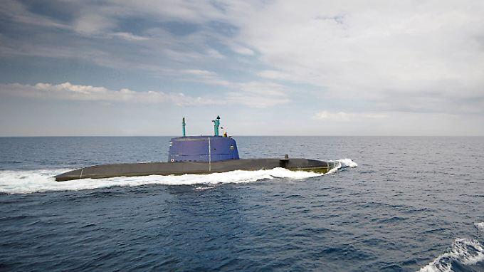 Es wird davon ausgegangen, dass von den U-Booten auch Atomwaffen abgeschossen werden können.