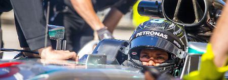 Zeigte sich im zweiten Training von seiner besten Seite: Nico Rosberg