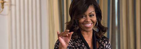 Ist der Ruf erst ruiniert …: Trump wütet gegen Michelle Obama