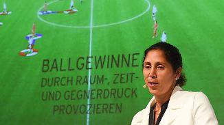 """""""Ganz oder gar nicht"""": Steffi Jones gibt Heimdebüt gegen Österreich"""