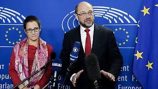 """Schulz will Ceta retten: """"Sind bereit, nächste Woche zu unterzeichnen"""""""