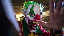 Grusel-Attacken in ganz Deutschland: Bremer schlägt Clown-Diebe in die Flucht