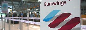 Flugbegleiter streiken Donnerstag: Was Eurowings-Passagiere wissen müssen