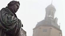 """""""Wir brauchen symbolische Daten"""": Luthers Thesenanschlag ist eine Legende"""