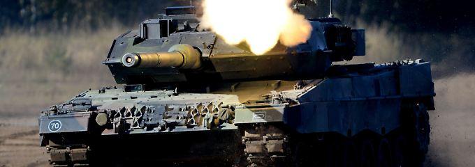 Nato-Aufrüstung im Osten: Berlin schickt Leopard-Panzer nach Litauen
