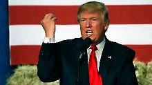 """""""Schuldig, schuldig, schuldig"""": Trump attackiert Clinton wegen Ermittlungen"""