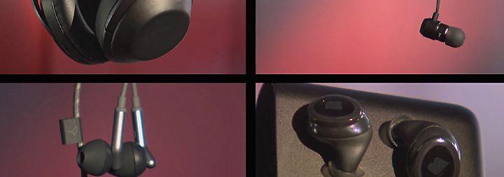 n-tv Ratgeber: Kopfhörer-Trends im Test