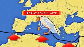 Geologisch brisante Gegend: Warum bebt die Erde in Italien so häufig?