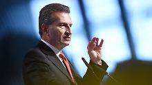 """Angebliche """"Kommunisten""""-Blockade: Wallonie empört über Oettinger"""