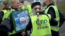 Platzeck soll nun schlichten: Ufo sagt Streik bei Eurowings ab