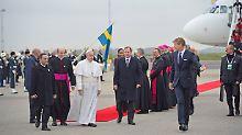 Zeichen zum Reformationsjubiläum: Papst auf historischer Schweden-Reise