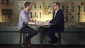 """Jens Spahn bei """"Klamroths Konter"""": """"Waren Sie bekifft oder verstrahlt, als Sie der CDU beigetreten sind?"""""""