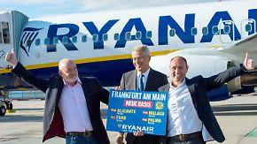 Streit zwischen Lufthansa und Fraport: Ryanair hebt ab März in Frankfurt ab
