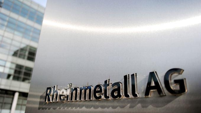Vor allem gute Rüstungsgeschäfte sorgen bei Rheinmetall für Optimismus.