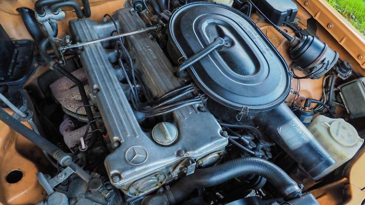 Der Reihensechzylinder M 110 gilt bis heute als fast unkaputtbar.
