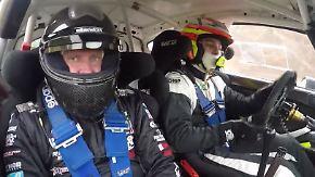 Schottertraining des DSK: Armin Schwarz heizt Rallye-Nachwuchs ordentlich ein