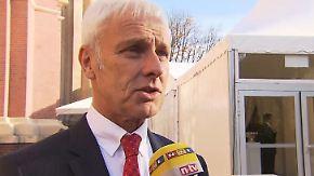 """Matthias Müller im n-tv Interview: """"Kann nachvollziehen, dass die Kunden sauer sind"""""""