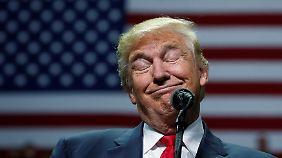 """""""Sie wollen die Wahlen sogar in der Wahlkabine manipulieren"""", sagt Trump."""