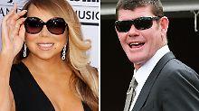 Klamotten, einen Privatjet und teure Geschenke mit eindeutiger Botschaft: All das verlangte Mariah Carey (l.) unter anderem von ihrem fast Ehemann James Packer (r.).
