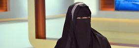 """""""Anne Will""""-Redaktion in der Kritik: Niqab-Trägerin empört Zuschauer"""