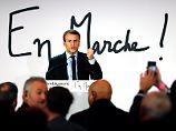 Ex-Minister will Staatschef werden: Vertraute: Macron fordert Hollande heraus