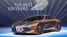 Das die neue Generation der E-Autos bei BMW so aussieht darf bezweifelt werden.