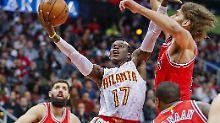 Schröders Team in NBA-Topform: Atlanta Hawks laufen heiß, Dallas kassiert