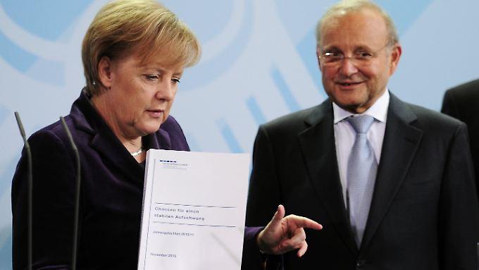 Lob an Vorgängerregierung: Deutsche Wirtschaft wächst