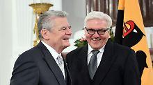 Wer wird neuer Bundespräsident?: CSU freundet sich mit Steinmeier an