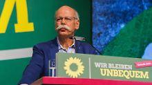 Plädoyer für Elektromobilität: Zetsche hat bei Grünen schweren Stand