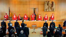 Das Bundesverfassungsgericht in seiner bisherigen Besetzung.