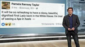 n-tv Netzreporter: Rassistischer Facebook-Post über Michelle Obama schlägt hohe Wellen