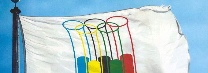 """Dieses Werk des Karikaturisten AD Karnebogen wurde beim Karikaturenpreis 2016 in der Kategorie """"Doping bei der Olympiade"""" prämiert."""