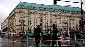 Polizisten und Scharfschützen im Einsatz: Berlin-Mitte wird wegen Obama-Besuch zur Hochsicherheitszone