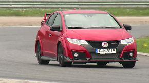"""Reiskocher"" oder heißer Feger?: Honda Civic Type R trommelt zum Angriff"