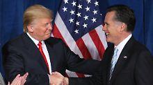 Treffen mit Trump geplant: Romney könnte US-Außenminister werden