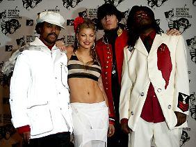 Die Black Eyed Peas im Jahr 2003 - das Jahr ihres Durchbruchs.