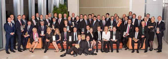 Die besten Vermögensverwaltungen wurden feierlich in der Berliner Bertelsmann-Repräsentanz ausgezeichnet.