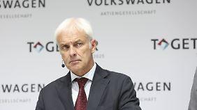 Erste Rücktrittsforderungen: VW-Chef erntet nach Kundenschelte heftige Kritik