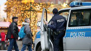 Angst vor Terror auf Weihnachtsmärkten: Sicherheitsvorkehrungen sind in diesem Jahr verstärkt