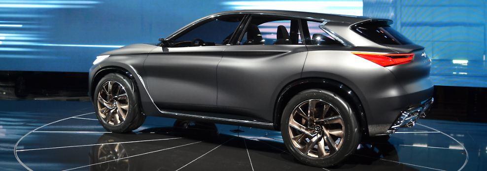 Sportliche Linien, kräftige Radhäuser, hoher visueller Schwerpunkt, eine lange Motorhaube und die geschwungene sportwagenähnliche Silhouette geben dem Concept Car einen starken Auftritt.