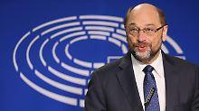 Reaktionen auf Wechsel nach Berlin: AfD: Schulz wird uns mehr Wähler bringen