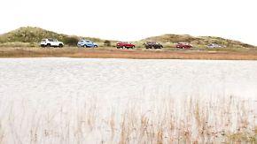 Sechs Modelle im Vergleich: Welcher Kompakt-SUV kann überzeugen?