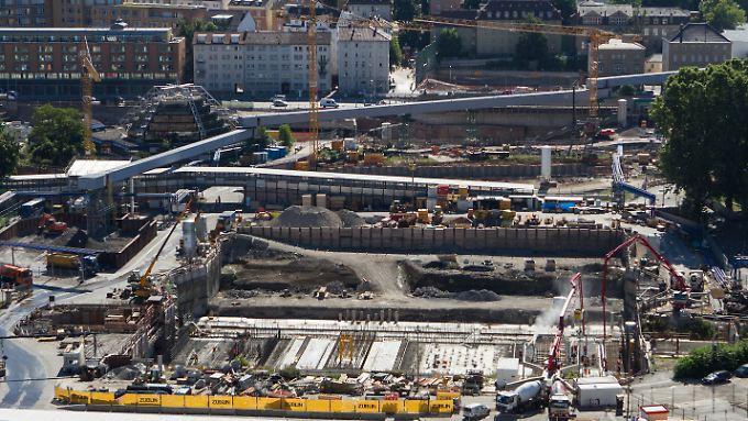 Bereitet auch der Bahn wenig Freude: die Großbaustelle Stuttgart 21.