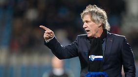 Bochum-Coach Gertjan Verbeek zeigt klare Kante.